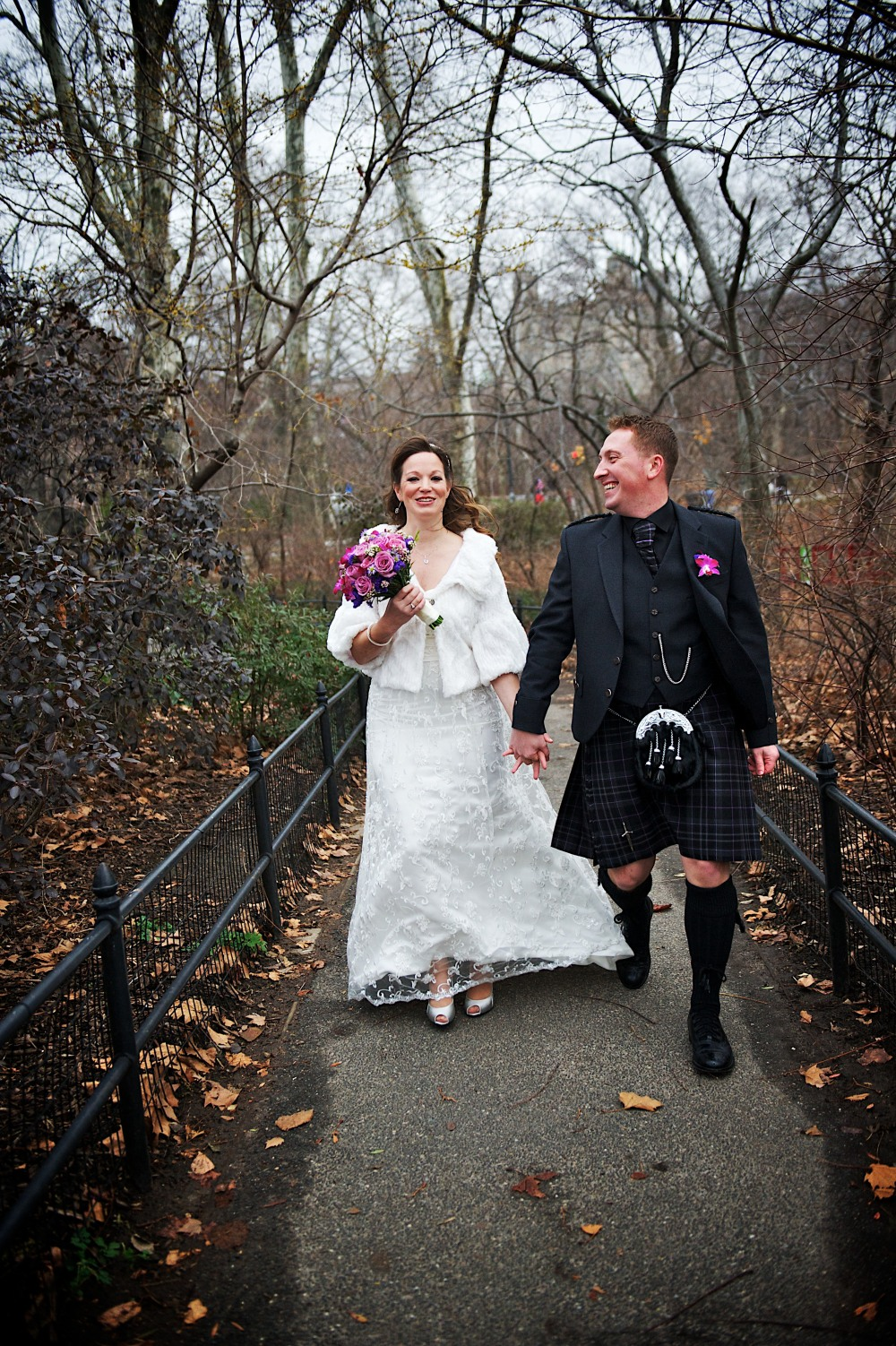 Suzanne and Stuart get married in NYC