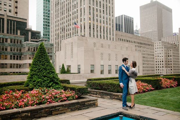 Rockefeller Center Elopement