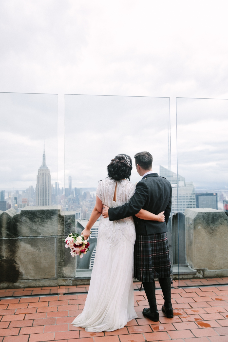 Conservatory Gardens wedding